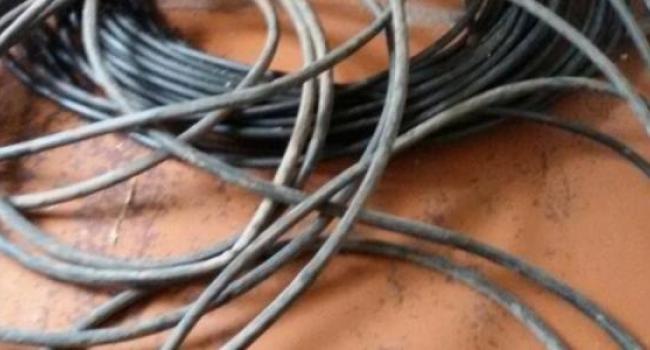 Патрульные Кременчуга задержали подозреваемого в краже кабелей