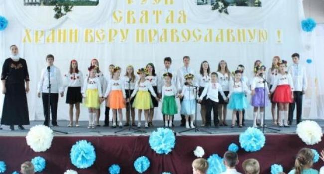 Воспитанников Воскресной школы в Почаеве наградили дипломом