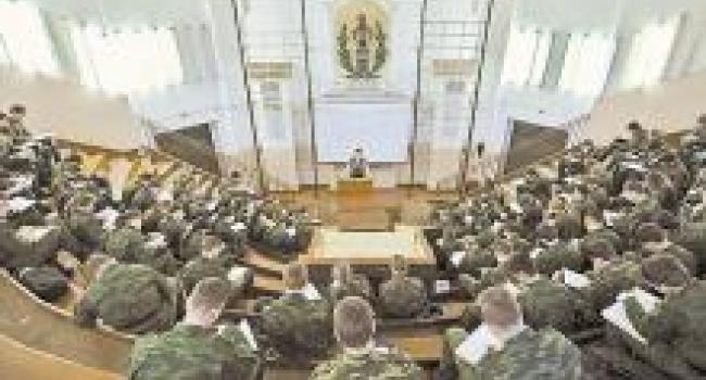 Кременчужан приглашают на обучение в высшие военные учебные заведения