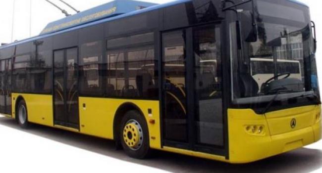 В 2016 году троллейбусы Кременчуга могут «пойти» к Песчаному