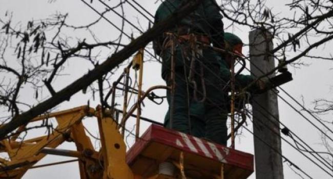 Жители Лашков остались без света