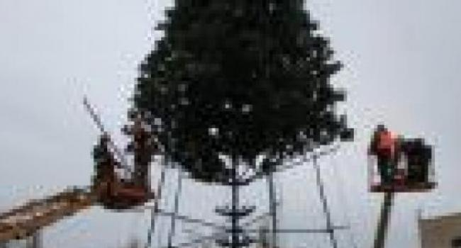 Демонтаж главной городской елки займет 3-4 дня