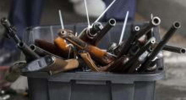 В Кременчуге «безболезненно» можно сдать оружие