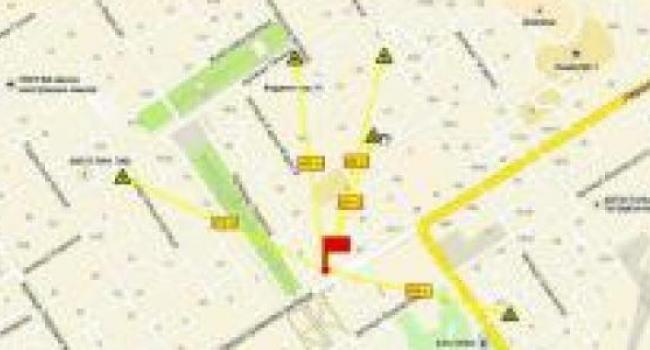 Защитные сооружения Полтавщины наносят на интерактивную карту