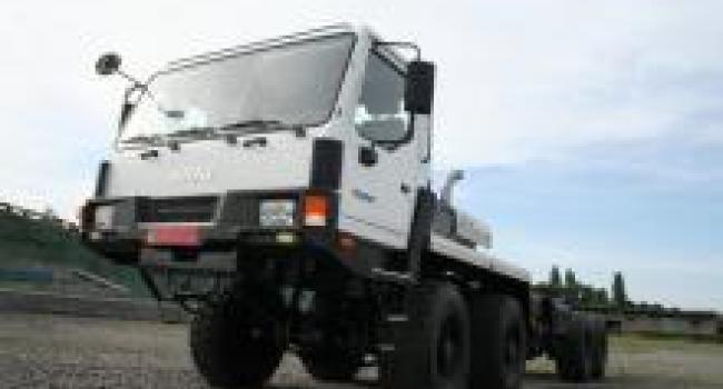 КрАЗ создал автотехнику для волонтеров