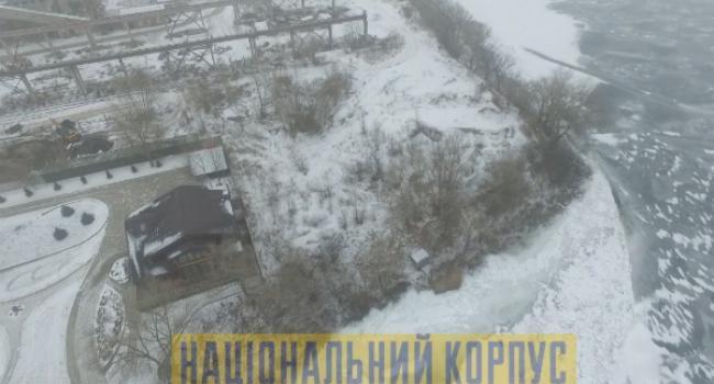 Мне сверху видно все: застройка берега Днепра по улице Флотской в Кременчуге