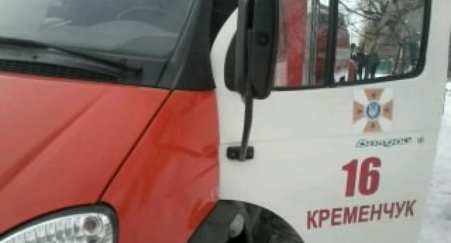 За минувшие сутки в Кременчуге произошли два пожара