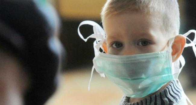 В Кременчуге эпидпорог по заболеваемости среди детей превышен на 30%