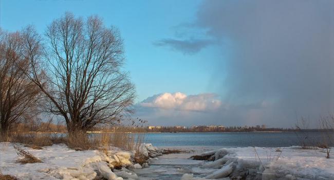 Выходные в Кременчуге: мороз и гололедица