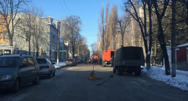 Водоканал отчебучил: Кременчугский горотдел полиции «плавает» в фекалиях
