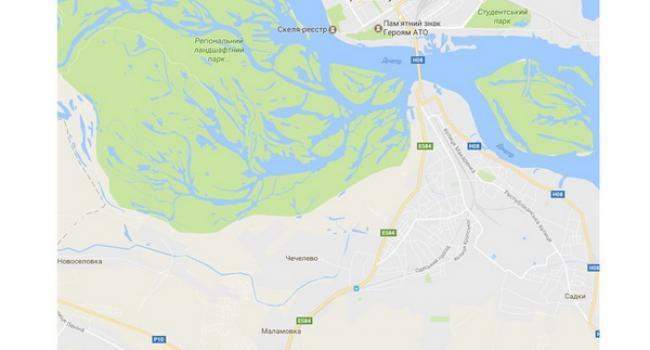 Малецкий, несмотря на конфликт, хочет расширять Кременчуг в сторону Белецковки