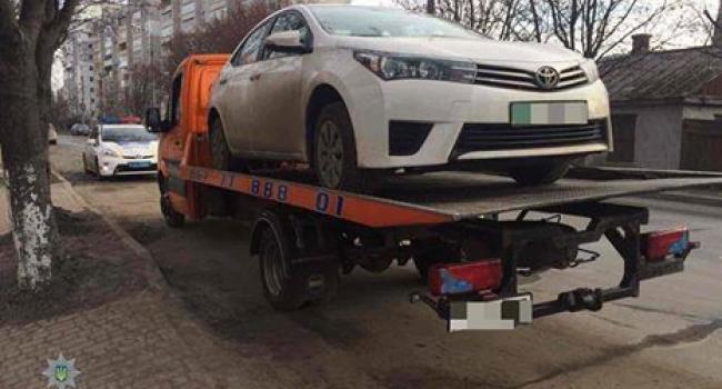 В Кременчуге нашли Toyot'у