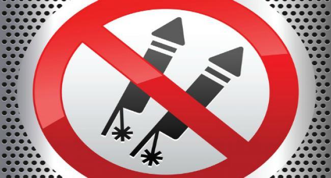 Жителям Кременчуга напомнили, что фейерверки сейчас не «в моде»