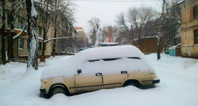 В Кременчуге за четыре дня января выпала среднемесячная норма осадков