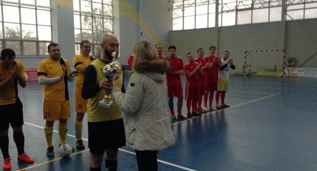 Прокуроры сыграли в мини-футбол