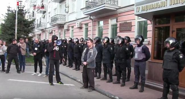 В полиции Полтавщины считают, что за участие в сегодняшнем митингеплатилипо 100 грн