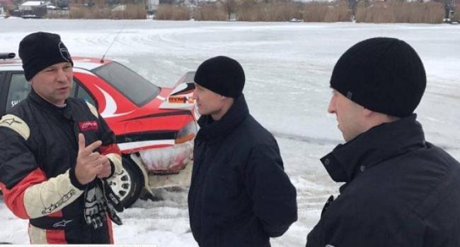 Нардеп Шаповалов на Сухом Кагамлыке