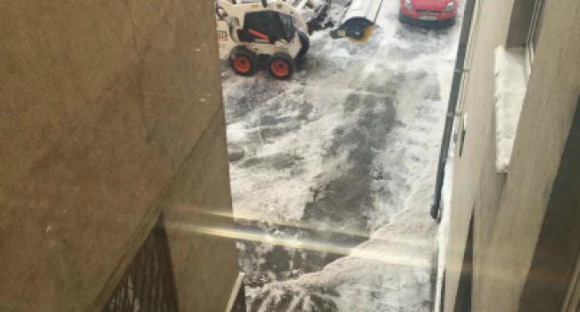 В Кременчуге расчищают дворы для избранных