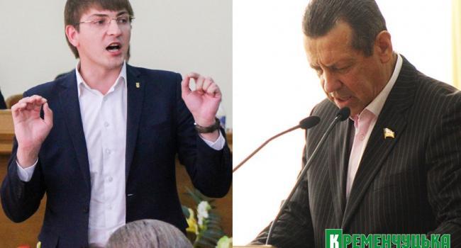 Таценюк и Красовский выясняют отношения в полиции