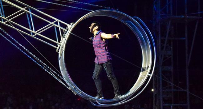 Экстрим-цирк «Кобзов»: от увиденного дух захватывает и чувствуется прилив адреналина