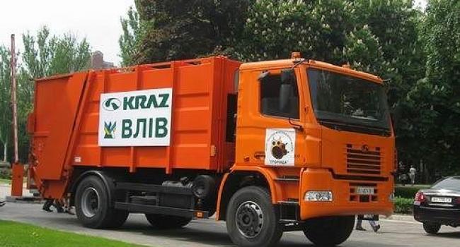 Жидачівська міська рада придбала КрАЗ-сміттєвоз, а кременчуцький мер ще й досі в роздумах