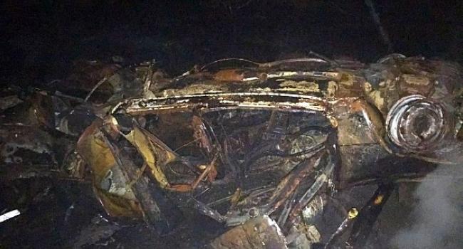 Під Кременчуком вибухнула автівка