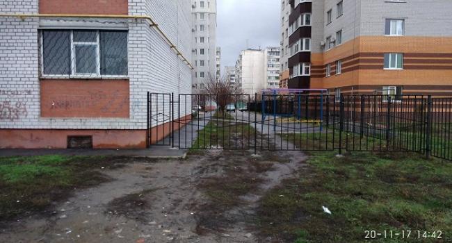 Паркан роздору: у 278 кварталі не вщухає конфлікт між мешканцями приватного сектору та багатоповерхівки