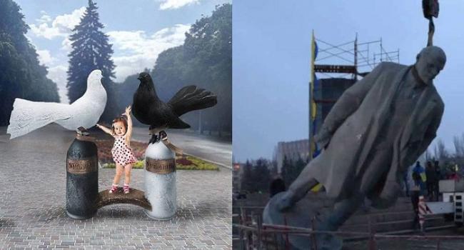 Кременчужанин пропонує продати скульптуру Леніна задля нового пам'ятника або потреб онкохворих дітей