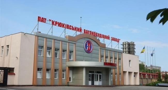 Крюковский вагонзавод в январе увеличил выпуск грузовых вагонов в 2,3 раза - до 273 единиц