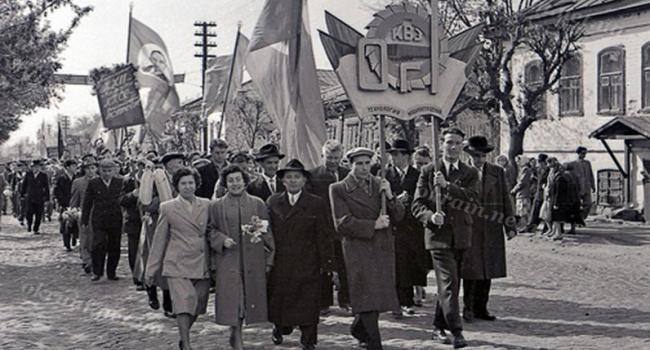 История празднования 1 мая в Кременчуге