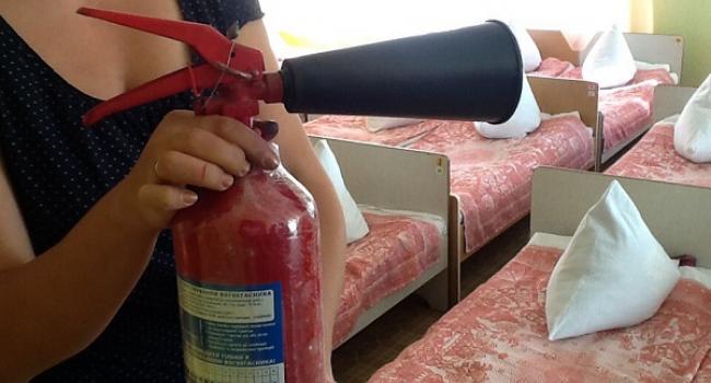 Як з'ясувала перевірка, у кременчуцькому дитсадку № 41 немає ні пожежної сигналізації, ні гідрантів