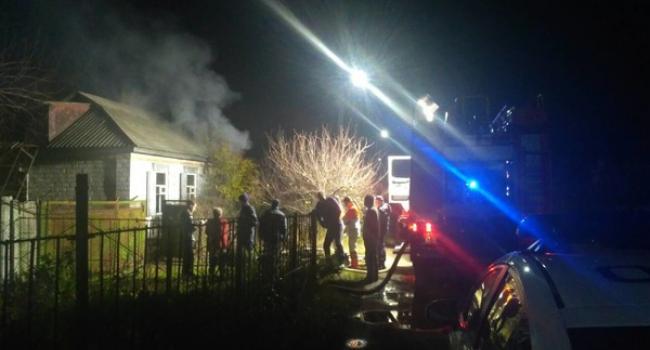 В Кременчуге при тушении пожара обнаружили труп мужчины