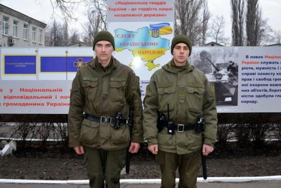 Кременчугские нацгвардейцы задержали «переносчика» марихуаны