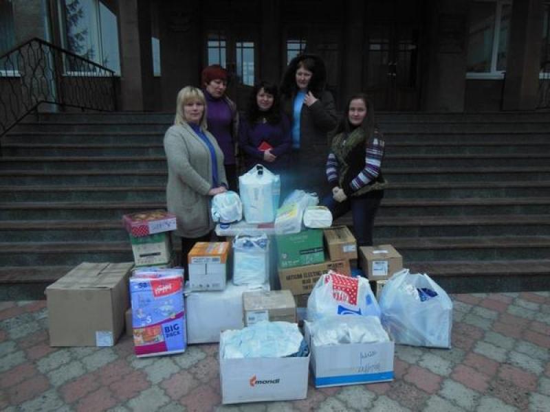 КрНУ передал гуманитарную помощь для детей-инвалидов Дружковки