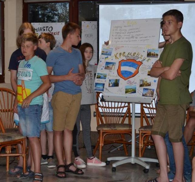 Дети презентовали Кременчуг в Татрах