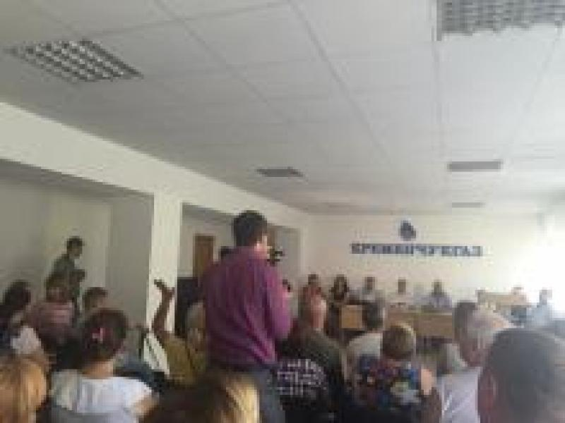 От руководства «Кременчуггаза» люди требуют не устанавливать надомные счетчики газа