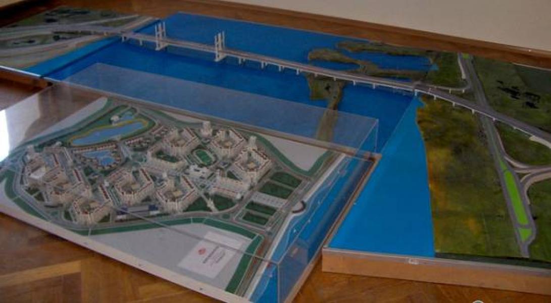 Кременчугский горсовет обратился к Гройсману с просьбой поддержать строительство моста именно в Кременчуге