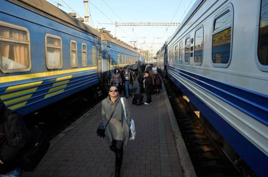 На медленный поезд «Кременчуг-Киев» в «Укрзалізницю» подано около 500 жалоб