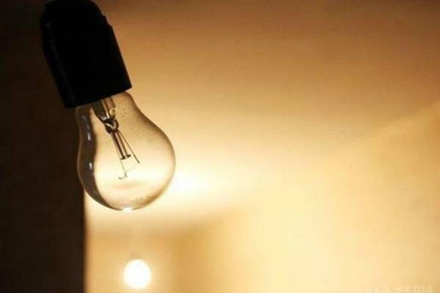 В центре Кременчуга – нет света