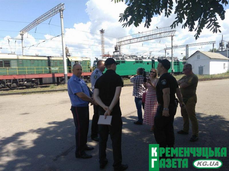 В локомотивному депо Кременчука загорівся локомотив, який сьогодні планували випустити на приміські перевезення
