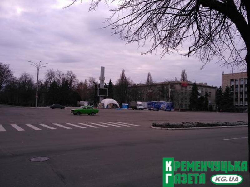На площі Незалежності вже готуються до 3D-шоу«Вартові мрій»