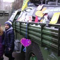 Кременчугский «Майдан» передал в зону АТО 2 БРДМ
